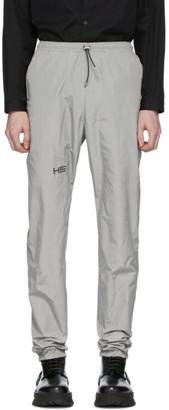 Heliot Emil Grey Tech Track Pants