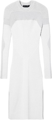 Proenza Schouler ribbed crew neck knitted dress