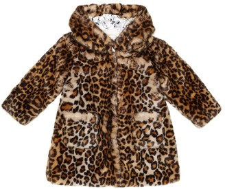 MonnaLisa Faux fur coat