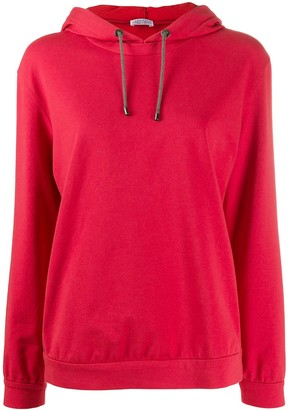 Brunello Cucinelli Relaxed-Fit Long-Sleeved Hoodie