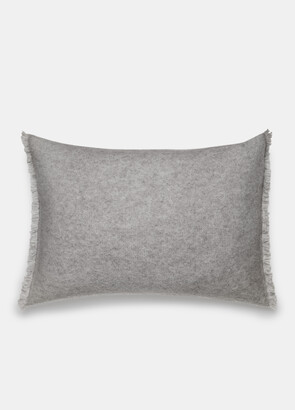 Vince Boiled Cashmere Rectangle Pillow
