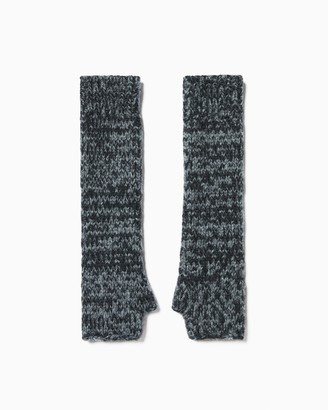 Ramy Brook Alpaca Knit Fingerless Gloves