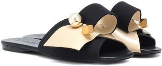 Mercedes Castillo Keria embellished slides