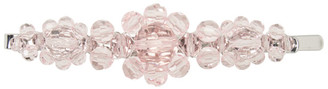 Simone Rocha Pink Large Flower Hair Clip