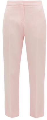 Alexander McQueen Tailored Wool-blend Cigarette Trousers - Light Pink