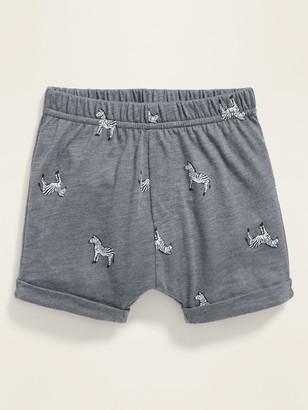 Old Navy Slub-Knit Jersey Shorts for Baby