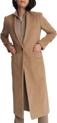 Rag & Bone Liam Camel Hair Long Coat