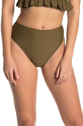 Free Press Cici High-Cut Bikini Bottoms