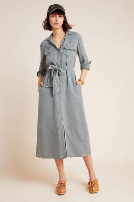 Cloth & Stone Chambray Shirtdress