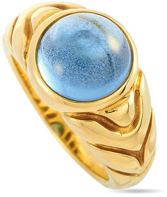 Bulgari 18K Topaz Ring
