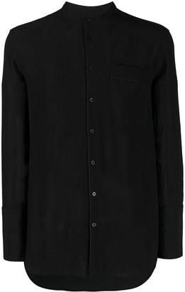 Neil Barrett Mandarin Collar Shirt