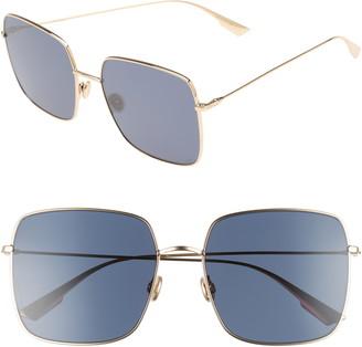 Christian Dior Stellaire 1 59mm Square Sunglasses