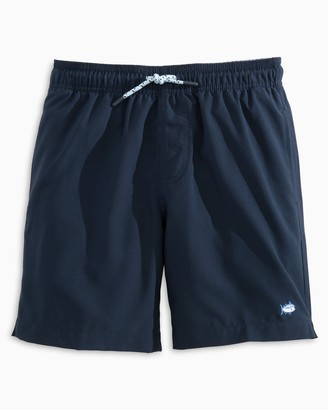 Southern Tide Boys Solid Swim Trunks