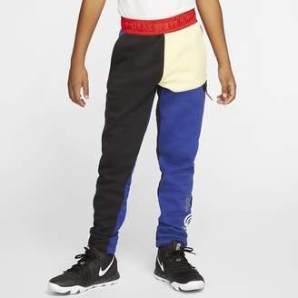 Nike Big Kids' Fleece Basketball Pants Kyrie