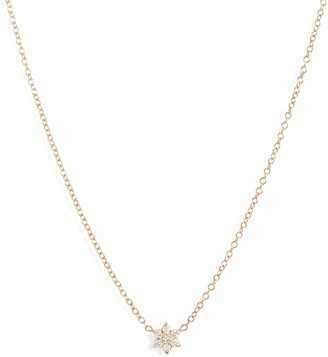 Chicco Zoe Diamond Flower Necklace