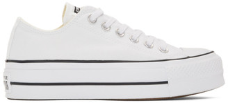 Converse White Chuck Taylor All Star Lift Low Sneakers