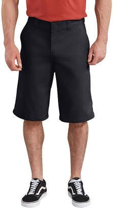 "Dickies 13"" FLEX Active Waist Flat Front Shorts"