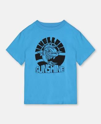 Stella Mccartney Kids Hello Sunshine Cotton T-Shirt, Men's