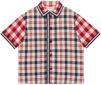 Gucci Children's check tweed coat