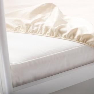 Naturepedic Organic Waterproof Fitted Crib Mattress Pad