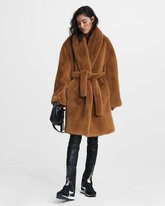 Rag & Bone Bijou faux fur coat