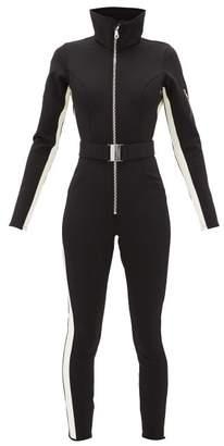 Cordova Aspen High-neck Belted Ski Suit - Womens - Black