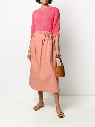 Roberto Collina two pocket midi skirt