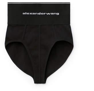 Alexander Wang Alexanderwang logo elastic underwear