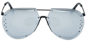 Kenzo Aviator glasses in metal