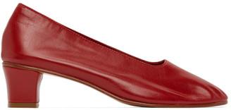 Martiniano Red High Glove Heel