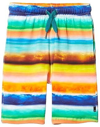 Molo Allwin Shorts (Little Kids/Big Kids) (Sunset Stripe) Boy's Shorts