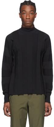 Issey Miyake Black Fit Knit Sweater