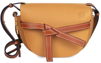 Loewe Small Gate Leather Saddle Bag