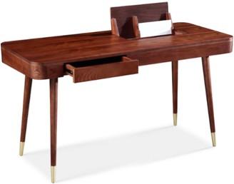 Apt2B Teller Desk WALNUT