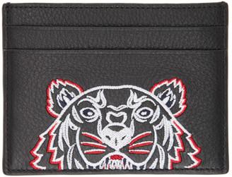 Kenzo Black Tiger Card Holder