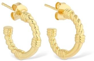 Missoma Cord Mini Hoop Earrings
