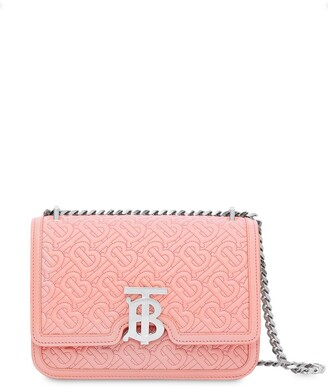Burberry small quilted monogram shoulder bag