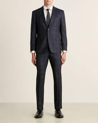 Corneliani Virgin Wool-Blend Flawless Fit Glen Plaid Suit