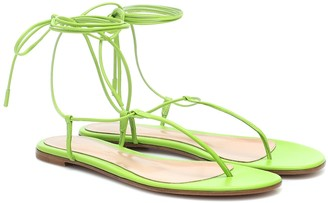 Gianvito Rossi Gwyneth leather sandals