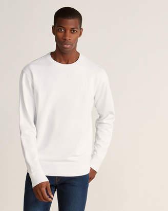 Vince White Solid Sweatshirt