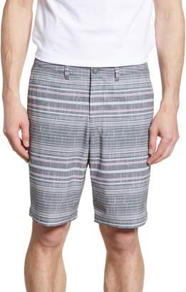 Tommy Bahama Cayman Sarzana Stripe Hybrid Board Shorts