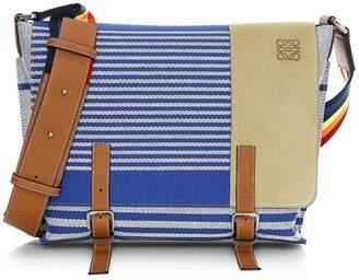 Loewe Military Stripe Messenger Bag