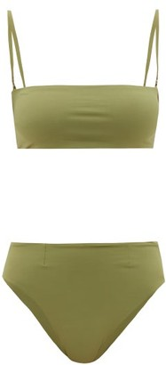 Haight Marcella Bandeau Bikini - Green