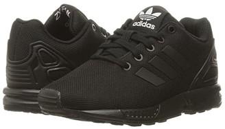 adidas Kids Kids ZX Flux EL (Little Kid) (Core Black/Core Black/Core Black) Boys Shoes