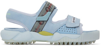 Off-White Off White Blue Oddsy Minimal Trekking Sandals