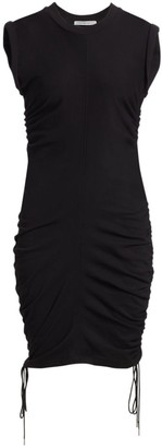 Alexander Wang Ruched Bodycon T-Shirt Dress