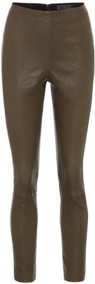 Rag & Bone Simone high-rise leather leggings