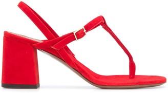L'Autre Chose Mid-Heel Thong Sandals