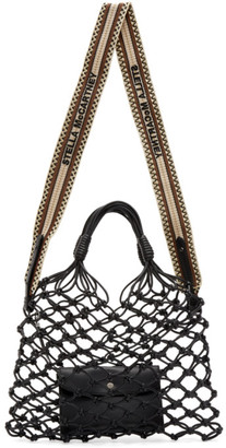 Stella McCartney Black Knotted Tote