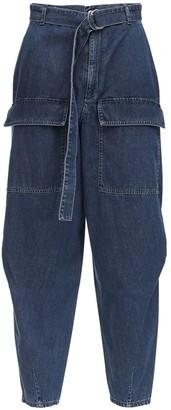 Stella McCartney Tapered Cotton Denim Jeans